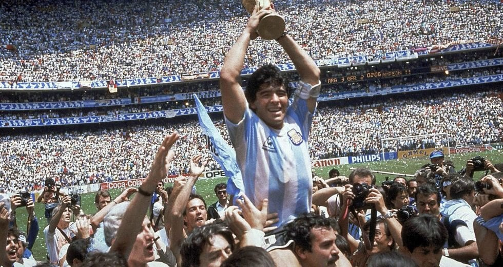 Maradona World Cup 1986