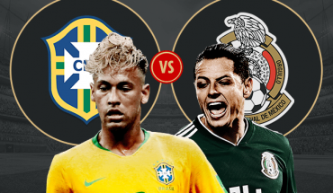 Brazil vs Mexico World Cup 2018