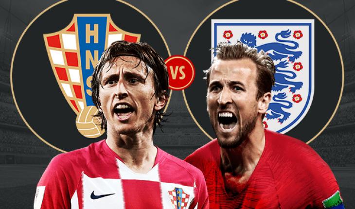 Highlight Anh vs Croatia ban ket World Cup 2018