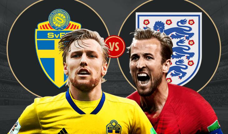 Highlight Anh vs Thuy Dien tu ket World Cup 2018
