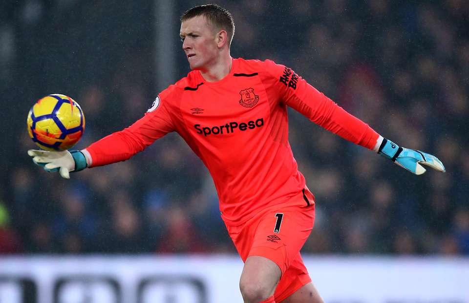 Jordan Pickford Everton