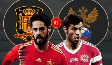 Nga vs Tay Ban Nha World Cup 2018