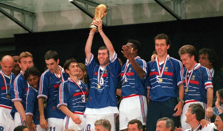 Phap vo dich World Cup 1998
