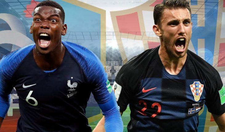 Phap vs Croatia Chung ket World Cup 2018