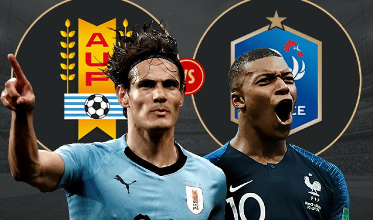 Phap vs Uruguay tu ket World Cup 2018
