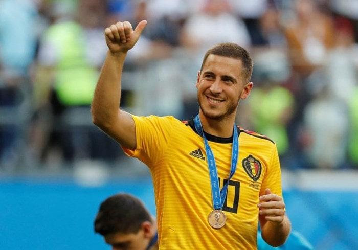 Qua bong bac World Cup 2018 Eden Hazard