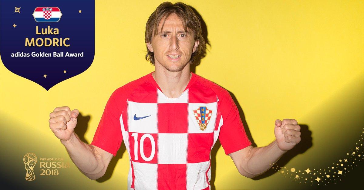 Qua bong vang World Cup 2018 Luka Modric