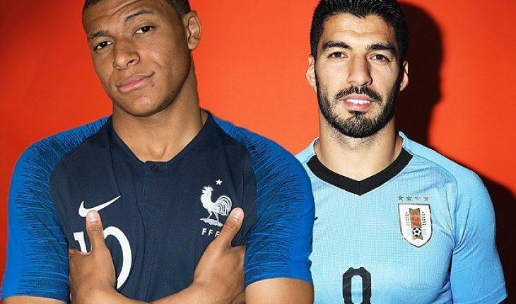 Uruguay vs Phap World Cup 2018