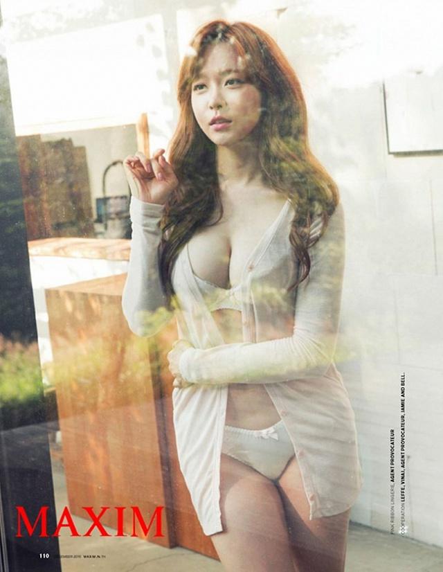 Ban gai Son Heung-min 3