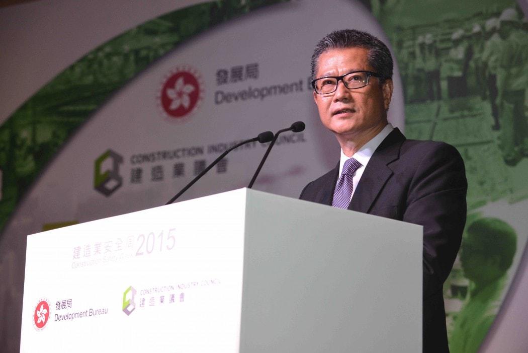 Bo truong tai chinh Hong Kong Paul Chan Mo-po