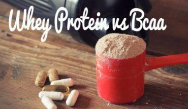 BCAAs va Whey Protein