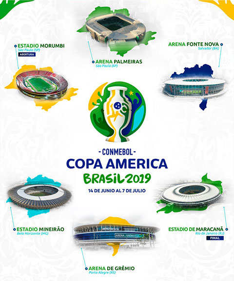 Copa America 2019 to chuc o dau 1