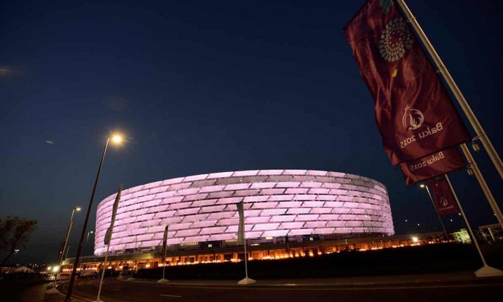 Sân Olympic tại Baku Azerbaijan