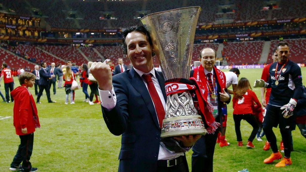Unai Emery rất có duyên với Europa League