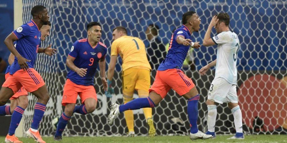 Colombia vs Argentina Copa America 2019
