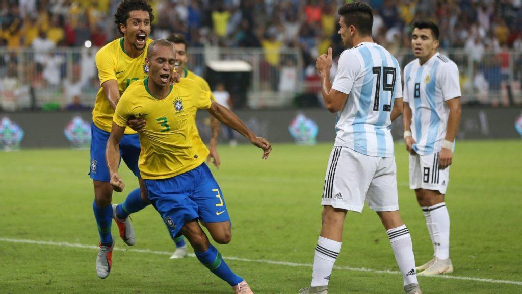 Lịch sử đối đầu Brazil vs Argentina - Tứ kết Copa America 2019