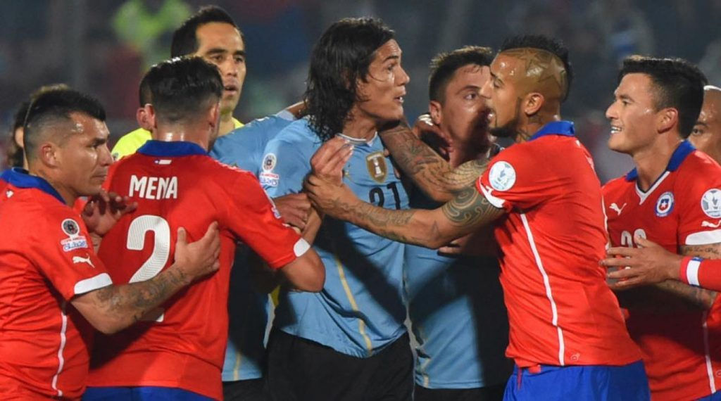 Lịch sử đối đầu Chile vs Uruguay - Copa America 2019