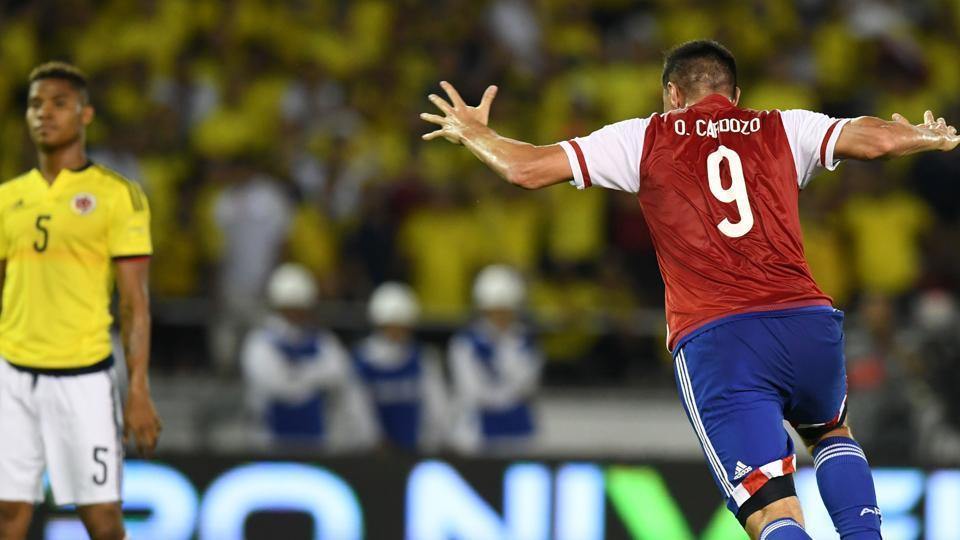 Lịch sử đối đầu Colombia vs Paraguay - Copa America 2019