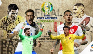 Xem trực tiếp bóng đá Brazil vs Peru - Chung kết Copa America 2019