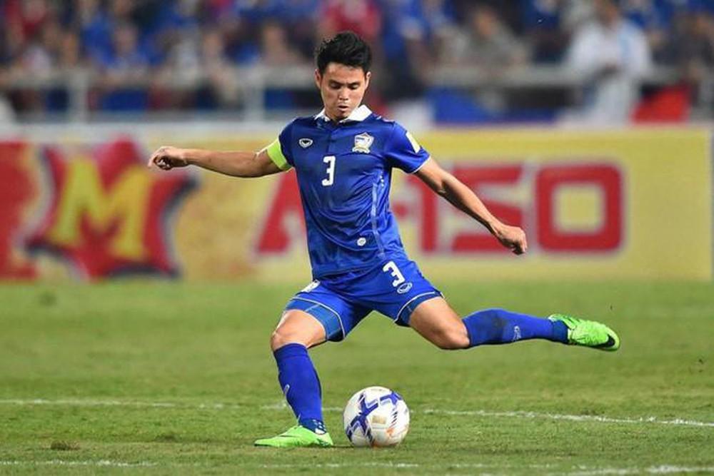 Theerathon Bunmathan Thái Lan vs UAE - Vòng loại World Cup 2022