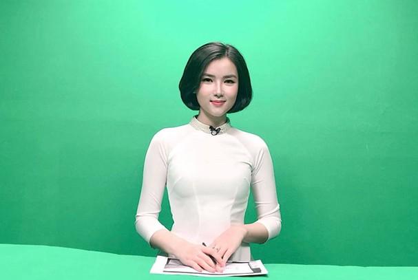 Phạm Khánh Linh bạn gái thủ môn Bùi Tiến Dũng